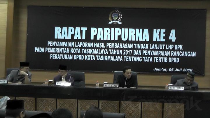 DPRD Beri Catatan WTP Kota Tasikmalaya