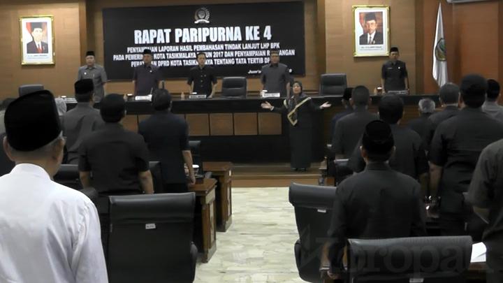 DPRD Kota Tasikmalaya Usulkan Regulasi Tata Tertib Dewan