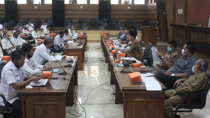 Koropak.co.id - DPRD Tampung Masukan OPD Untuk Raperda Perubahan RPJMD 2017-2022