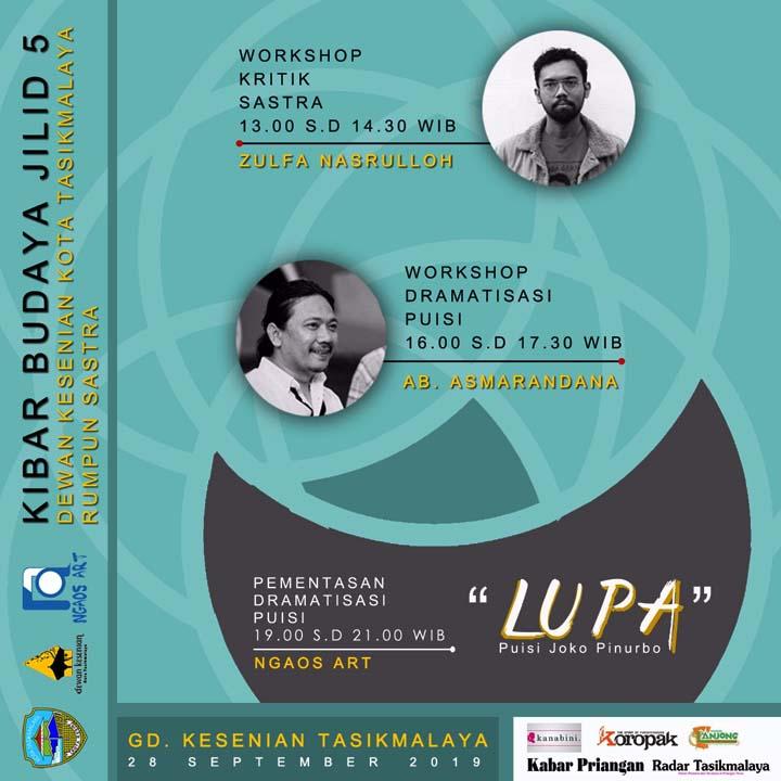 Koropak.co.id - Dramatisasi Puisi di Kibar Budaya, Inovasi Sebuah Pentas Puisi (2)