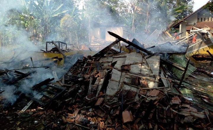 Dua Kebakaran dalam Dua Hari di Tasikmalaya