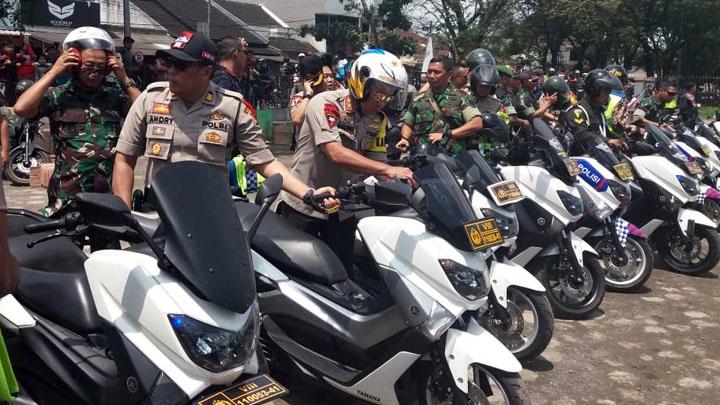 Koropak.co.id - Dua Petinggi Militer Dan Polri Jabar, Tinjau Tasikmalaya (2)