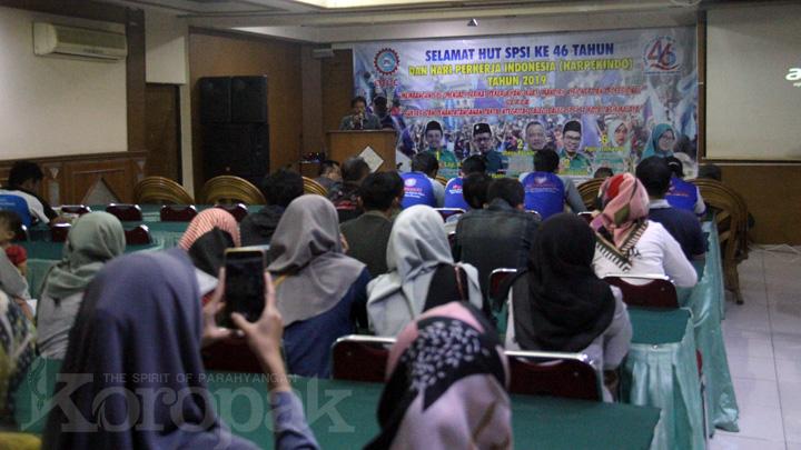 Koropak.co.id - Dukung Kader SPSI Perjuangkan Tenaga Kerja (2)
