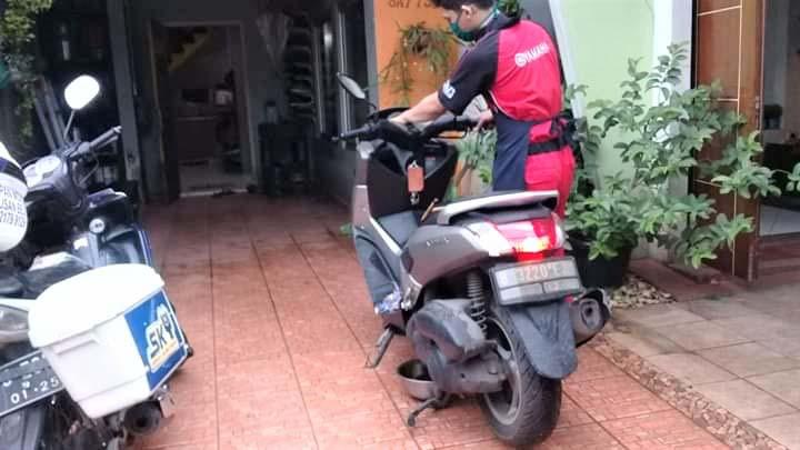 Koropak.co.id - Dukung Social Distancing, Yamaha Berikan Layanan Service Kunjung