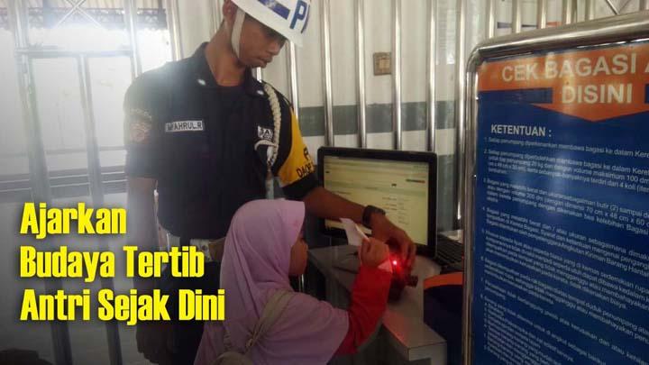 Koropak.co.id - Edu Trip Ulin Loko, Kenalkan Lokomotif Kereta Pada Siswa TK 1