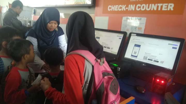 Koropak.co.id - Edu Trip Ulin Loko, Kenalkan Lokomotif Kereta Pada Siswa TK 3