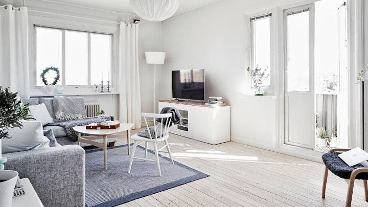 Koropak.co.id - Elegannya Interior Rumah Berwarna Putih 2