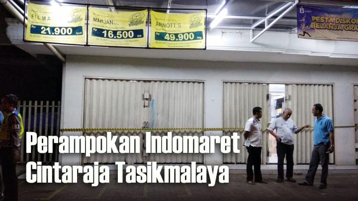 Koropak.co.id - Empat Perampok Bersenjata Sekap Pegawai Indomaret