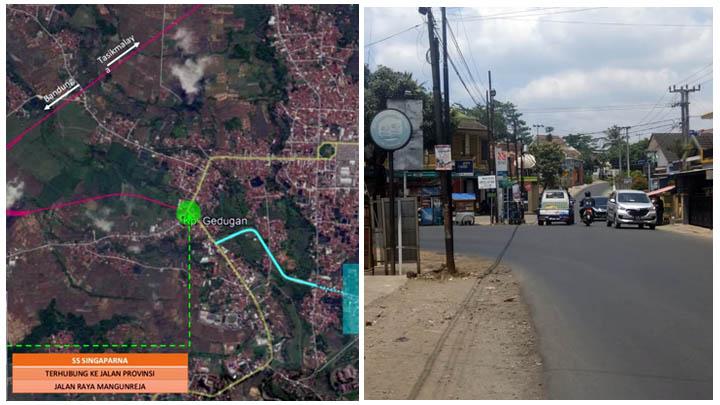 koropak.co.id - Exit Tol Bandung-Tasikmalaya Ada Di Desa Cikunten Kecamatan Singaparna