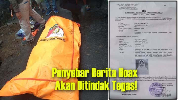 Koropak.co.id - Fakta di Balik Penemuan Jasad Siswi SMP di Tasikmalaya (2)