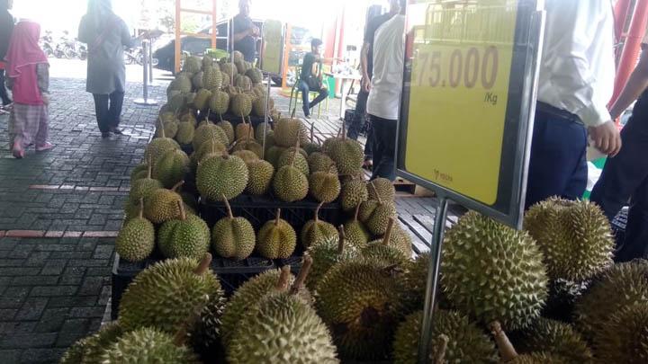 Koropak.co.id - Festival Durian Yogya Ciamis Sediakan Berbagai Jenis Varian (2)