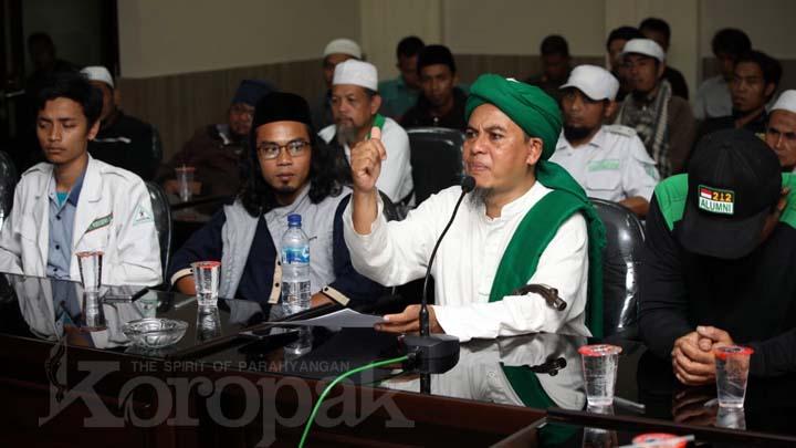 Koropak.co.id - FPI Hukum Diminta Tidak Tajam Ke Bawah Tumpul Ke Atas (2)