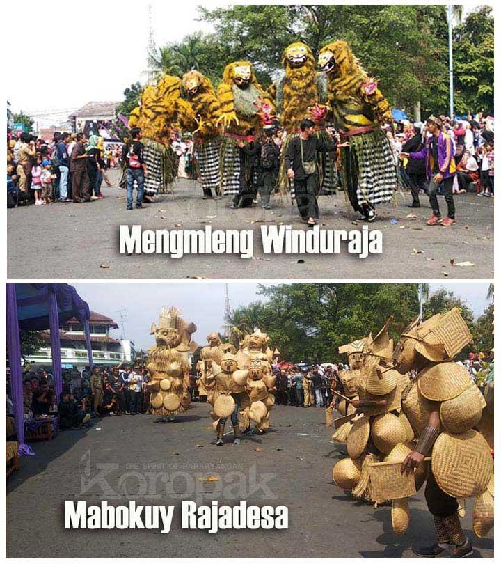 Koropak.co.id - Galuh Ethnic Carnival, Panorama Budaya Potensial Asal Ciamis (3)