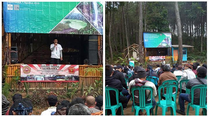 Koropak.co.id - Galunggung Jadi Geopark Nasional, Angin Segar Bagi Desa Sekitar
