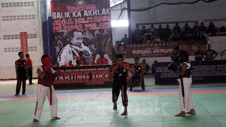 Koropak.co.id - Geliat Olahraga Tarung Derajat di Kota Tasikmalaya Sangat Luar Biasa (2)