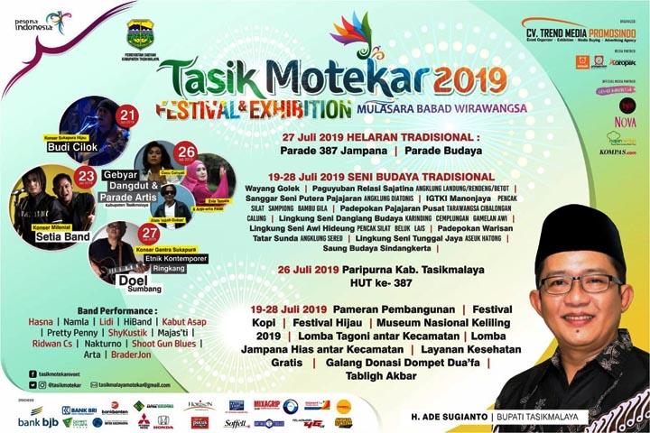 Koropak.co.id - Hari Jadi ke-387 Kabupaten Tasikmalaya, Gelar Pesta Rakyat Sarat Makna (3)
