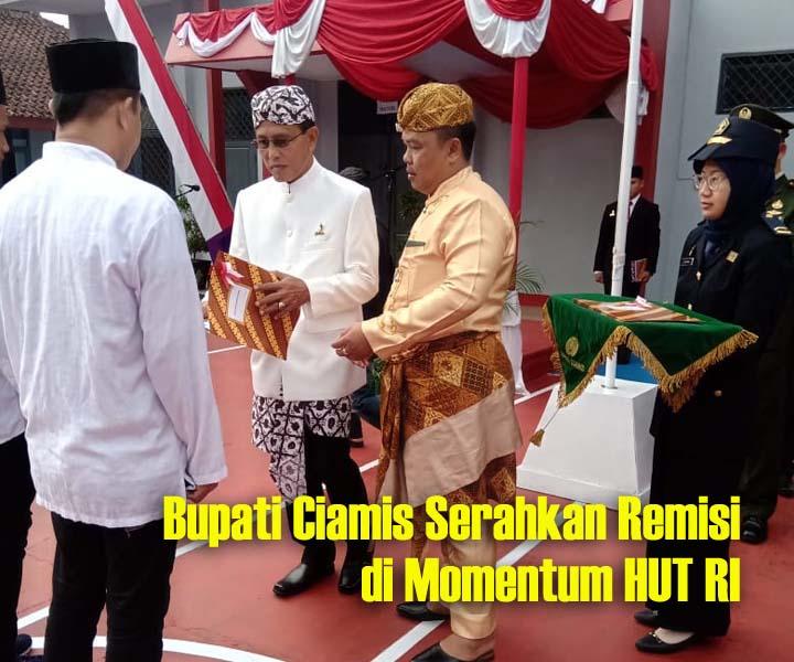 Koropak.co.id - Hari Kemerdekaan, Tujuh Warga Binaan Lapas Ciamis Bebas (2)