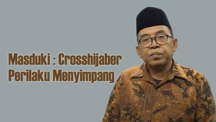 Koropak.co.id - Heboh Fenomena Crosshijaber, Lelaki Berhijab Bikin Wanita Resah (3)
