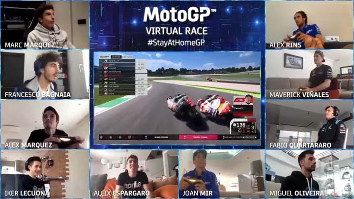 Koropak.co.id - Hiburan Para Rider, MotoGP Akan Kembali Gelar Balapan Virtual (2)