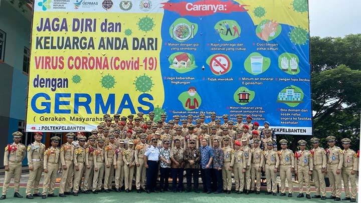 Koropak.co.id - Hindari Penyebaran Corona, Taruna Poltekpel Banten Laksanakan E-Learning