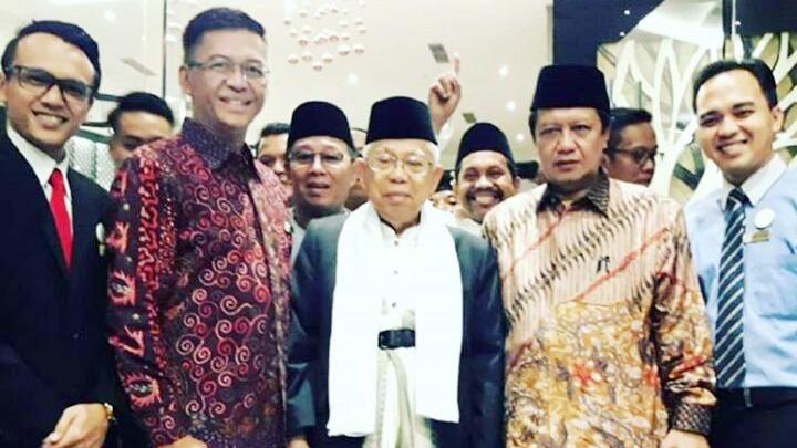 Hotel Horison Tasikmalaya yang beralamat Jalan Yudanegara Nomor 63 Kota Tasikmalaya tengah bersiap menyambut kedatangan KH Ma'ruf Amin yang merupakan calon wakil presiden pasangan Joko Widodo.
