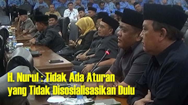 Koropak.co.id - Hujan Interupsi, Penandatanganan Kesepakatan Rancangan Awal RPJMD Ditunda! (2)