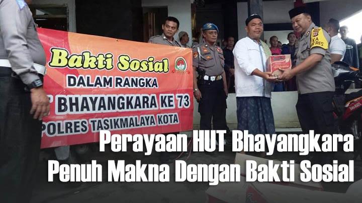 Koropak.co.id - HUT Bhayangkara, Inilah Rangkaian Kegiatan Polres Tasikmalaya Kota (1)