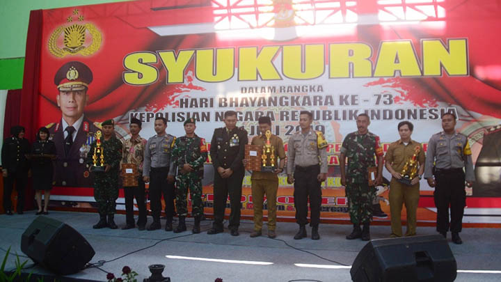 Koropak.co.id - HUT Bhayangkara, Walikota Harapkan Polri Semakin Profesional (2)