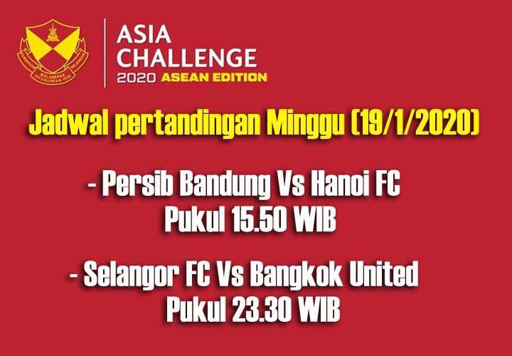 Koropak.co.id - Inilah Jadwal Laga Persib Dalam Turnamen Asia Challenge Cup 2020