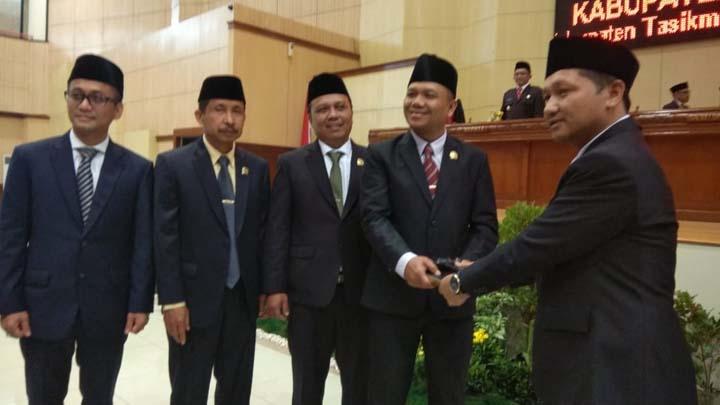 Koropak.co.id - Inilah Sambutan Perdana Ketua DPRD Kabupaten Tasikmalaya (2)