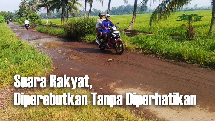Koropak.co.id - Jalan Desa Puloerang Rusak Parah (1)
