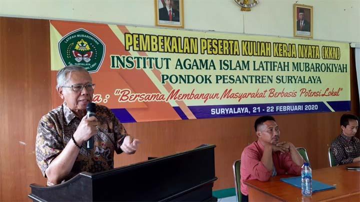 Koropak.co.id - Jelang KKN, Mahasiswa IAILM Suryalaya Diberi Pembekalan (2)