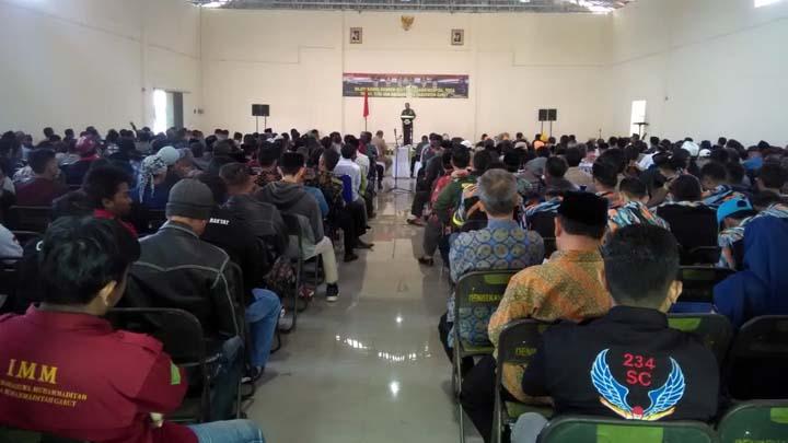Koropak.co.id - Jelang Pelantikan Presiden, Danrem Gelar Silaturahmi (2)