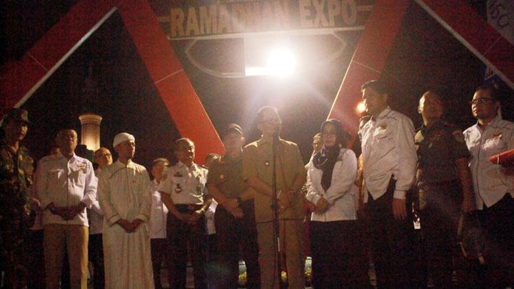 Koropak.co.id - Jelang Tarawih, Ramadan Expo Baru Dibuka (2)