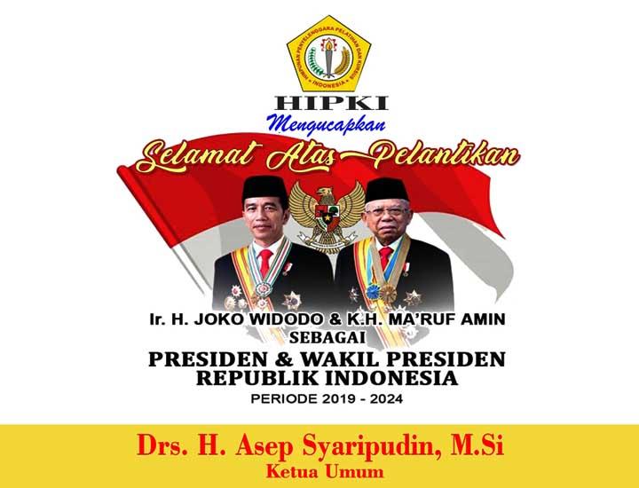 Koropak.co.id - Jokowi-Amin Dilantik, HIPKI Siap Kawal Visi Bangsa
