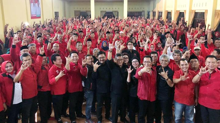 Koropak.co.id - Jokowi-KH Ma'ruf Amin Optimis Menang Di Tasikmalaya (2)