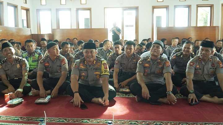 Koropak.co.id - Kapolres Banjar Ajak Jajarannya Teladani Akhlak Nabi Muhammad SAW