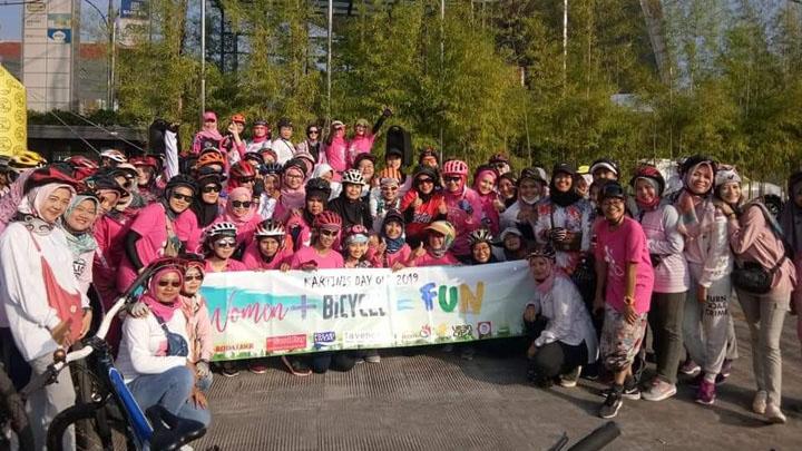 Koropak.co.id - Kartini Day Out, Kampanye Bersepeda Ke Kantor (1)