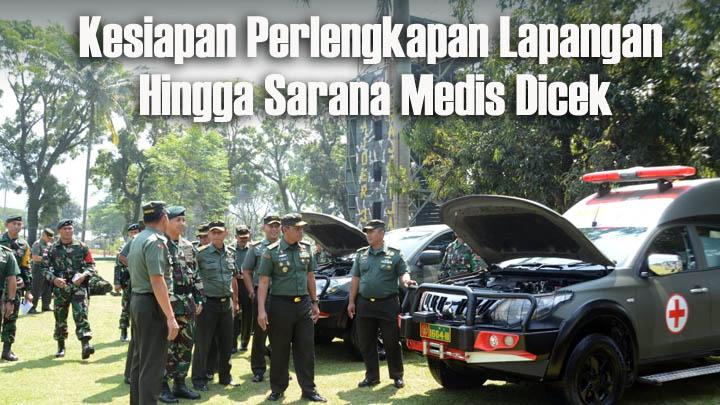 Koropak.co.id - Kasdam IIISiliwangi Cek Kesiapan Satgas Pengamanan Batas Negara (2)