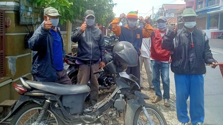 Koropak.co.id - Kesadaran Memakai Masker Warga Kota Tasikmalaya Masih Rendah