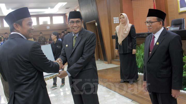 Koropak.co.id - Ketua Dewan Harapkan Dadan Daruslan Warnai Kinerja Legislatif (2)