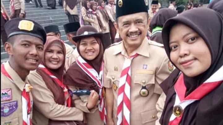 Koropak.co.id - Ketua Kwarcab Tasikmalaya Tegaskan Pramuka Bukan Budak Warna 1 (2)