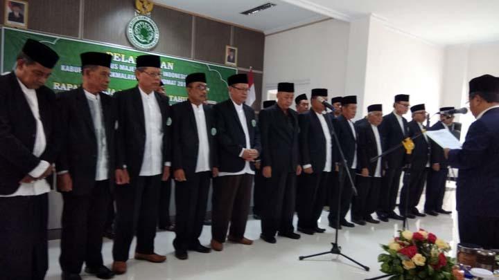 Koropak.co.id - KH. Ii Abdul Basith Wahab Kembali Nakhodai MUI Kabupaten Tasikmalaya (2)