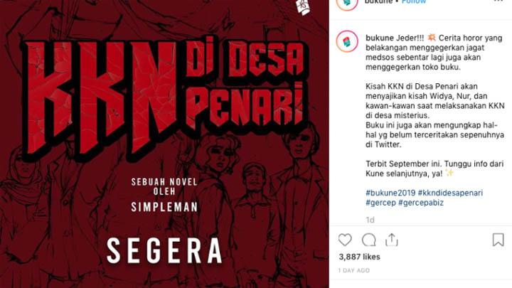 Koropak.co.id - Kisah Mistis KKN Desa Penari, Akan Terbit Dalam Bentuk Novel (2)