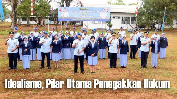 Koropak.co.id - Komandan Lanud Wiriadinata Pimpim Upacara Peringatan HUT Ke-73 POM AU (1)