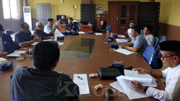 Koropak.co.id - Komisi II Inginkan PDUP Lebih Maju Ketimbang BUMD Lain (2)