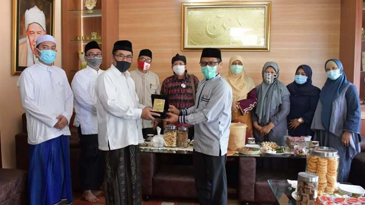 Koropak.co.id - Komisi V Apresiasi SMK AL Falah Dengan Mengurangi Jam Pelajaran