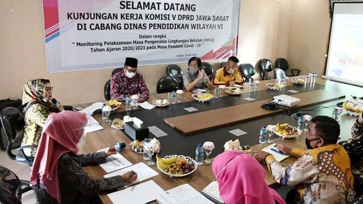 Koropak.co.id - Komisi V DPRD Provinsi Jawa Barat Monitoring MPLS di Kabupaten Cianjur dan KBB