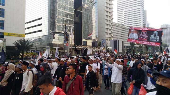 Koropak.co.id - Kritik Penanganan Represif, Mujahid 212 Gelar Aksi Demonstrasi