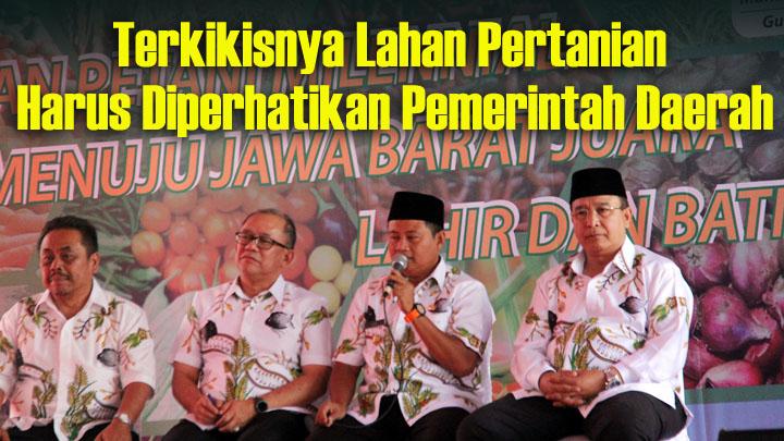 Koropak.co.id - Lahan Pertanian Kian Sempit, Dewan Kaji Raperda Hak Petani Berkelanjutan (2)